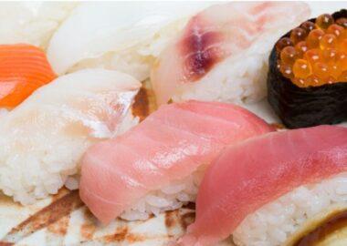 お手頃寿司ランチ
